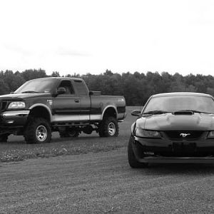 1999 Ford F 150 Lariat  FX4 & 2004 Ford Mustang MACH 1