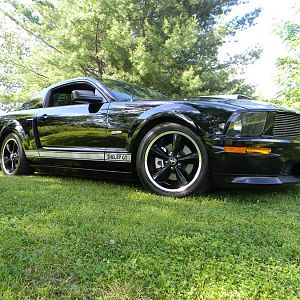 STOCK 0457 2007 Ford SHELBY GT MUSTANG 001