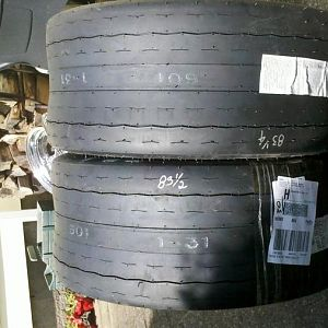 Ups showed up!Mickey thompson ET Streets 26x11.5x15!