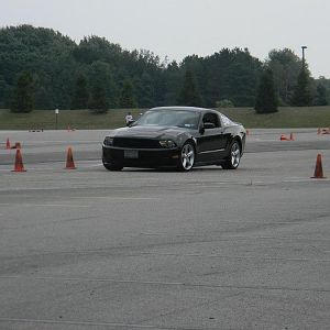 Tearing it up in autocross!