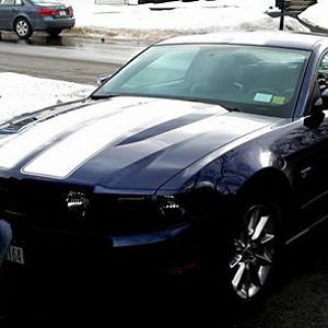 Jason and Mustang.  Just bought my first Mustang