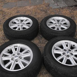 Four wheels & tires. Good Conditions, asking for $375.00   O.B.O... Pick up in Long Island. or Call (631) 245-4514.
